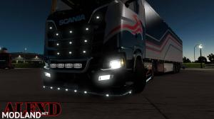 ALEXD FOG LIGHT FOR SCANIA S & R 2016 v 1.2