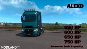 ALEXD RENAULT TRUCKS T RANGE NEW ENGINE v 1.1