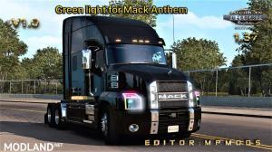Green light for Mack Anthem V1.0 For Multiplayer ATS 1.37