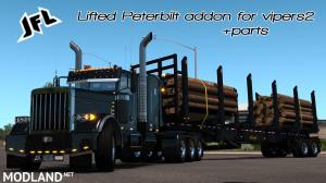 JF Logging Lifted Viper2 Peterbilt 389 ADDON