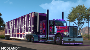 Trux Purple Haze Slin & Parts+lights(for Viper2+Outlaws pete), 2 photo