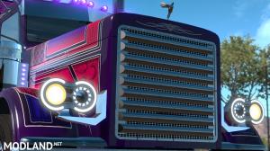 Trux Purple Haze Slin & Parts+lights(for Viper2+Outlaws pete), 3 photo