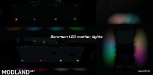 [ETS/ATS] Boreman LED Marker Lights v1.4 [11.07.2018], 1 photo