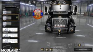 Frontgrill for volvo VNL 2019 1.34.x