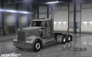 Maud bumper sets off on Peterbilt 389 Kenworth W900 for ATS, 2 photo