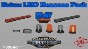 BigT Britax LED Beacons Pack ATS 1.31.x, 1 photo