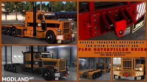 Special Transport Accessories+Caterpillar skins(viper2 389), 1 photo