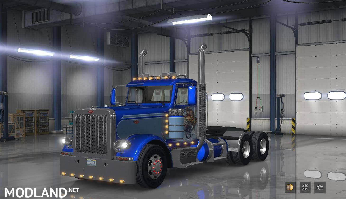 Unlock F Grill On All Bump For Peterbilt 389 For Ats Mod