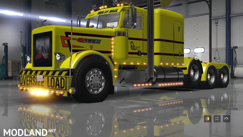 Premier Heavy Haul Skin Mod For American Truck Simulator Ats