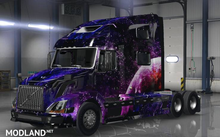Star Skin by Big-Henk Trucking for Volvo 780 VNL by: Truck ...