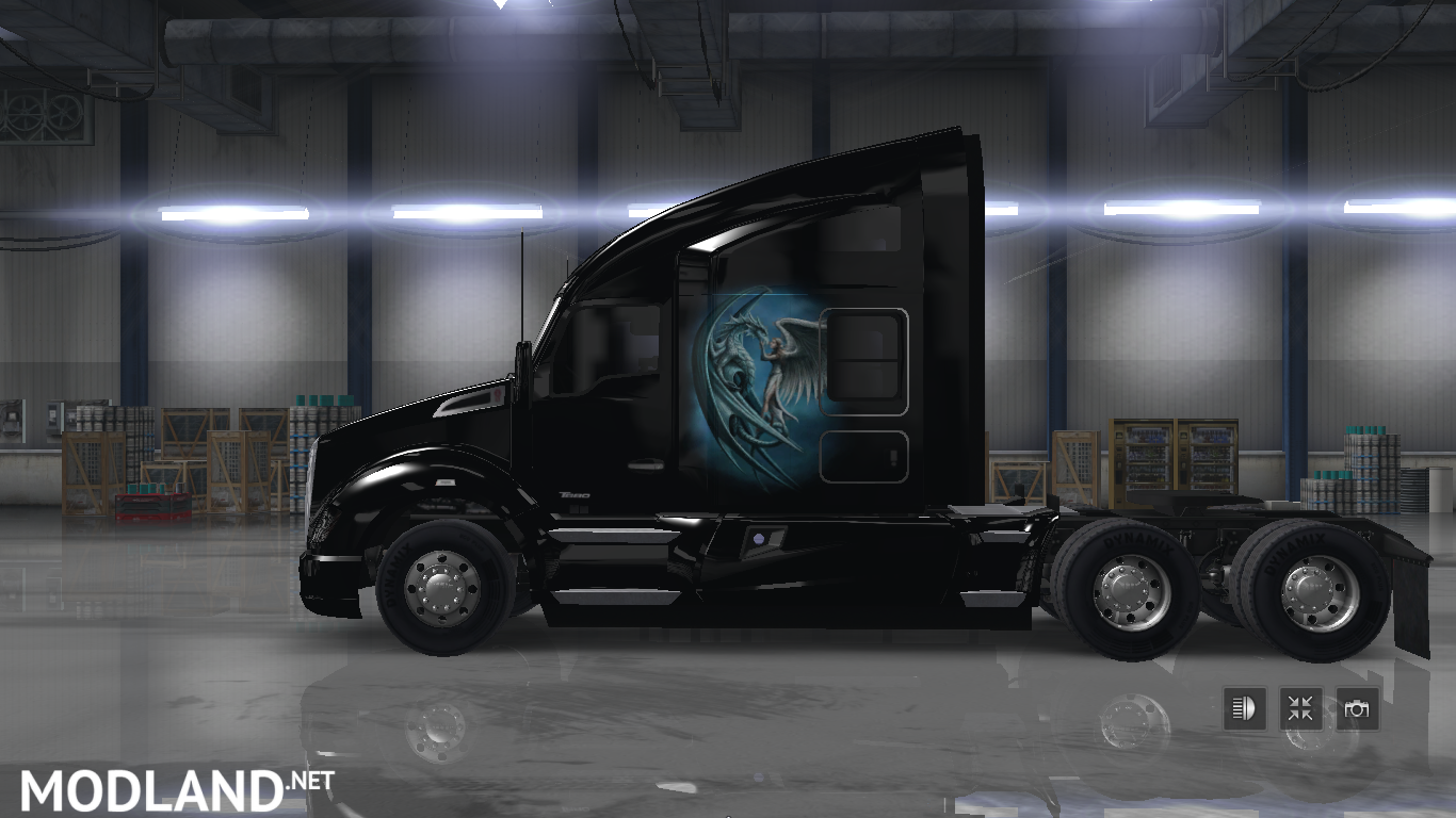 Dragon For T 680 Mod For American Truck Simulator Ats