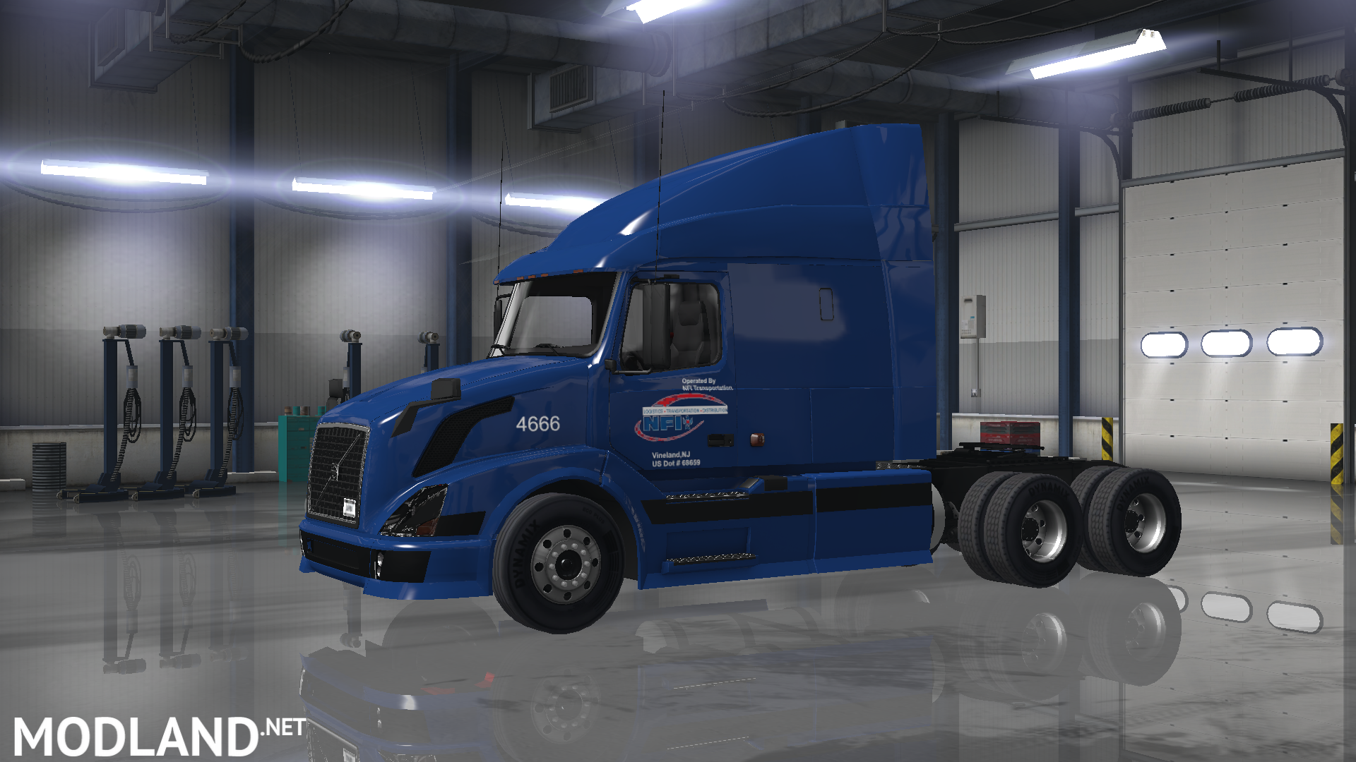 trucking companies skin pack mod for american truck