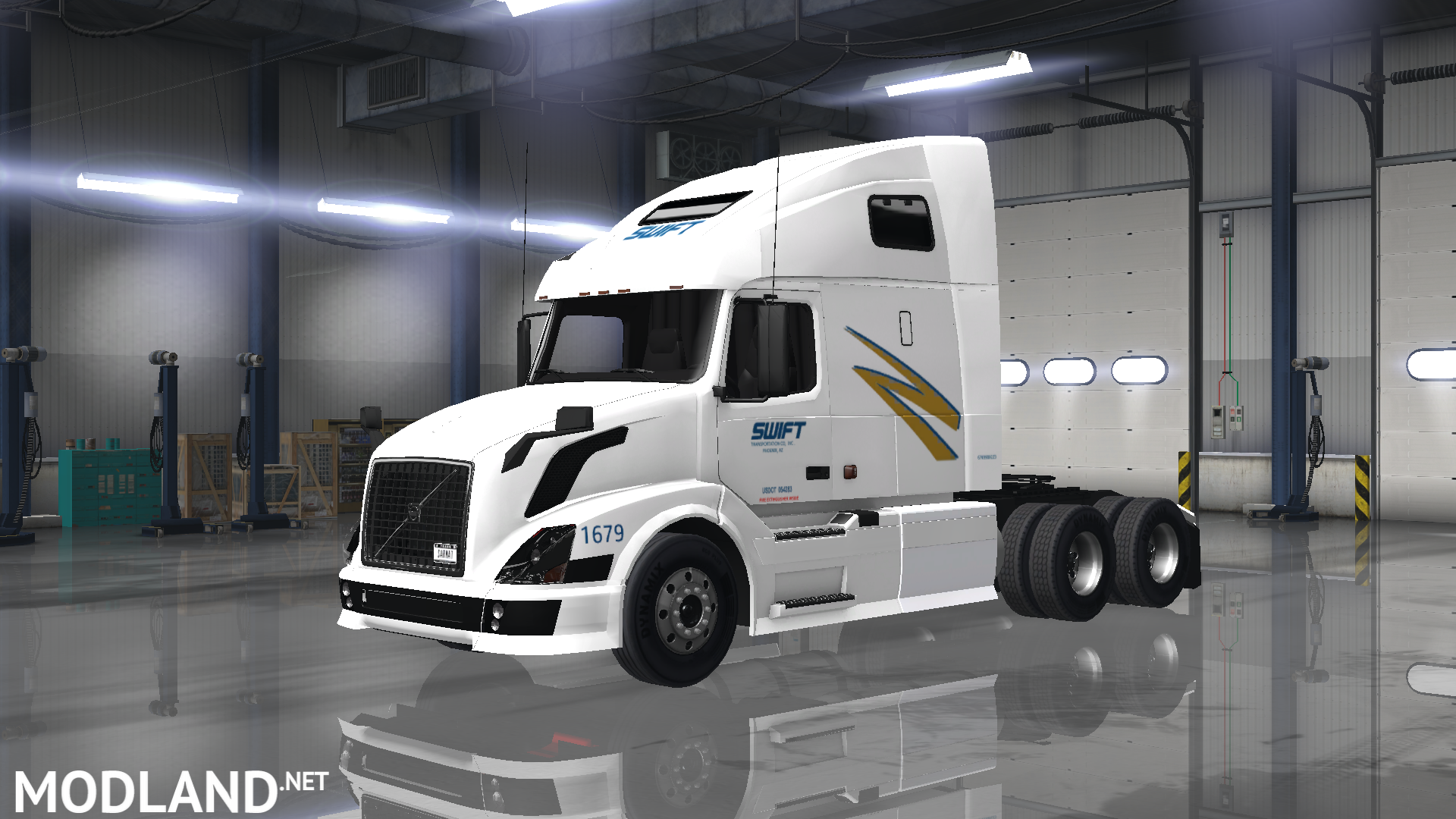 trucking companies skin pack mod for american truck simulator  ats