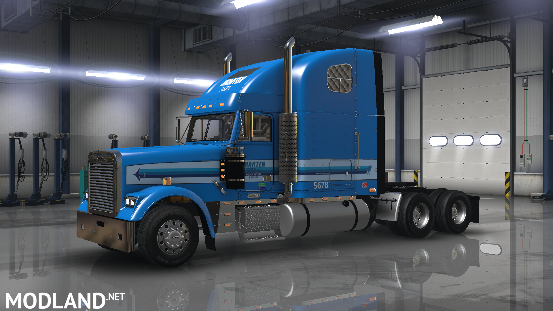 freightliner classic xl marten transport skin mod for ...