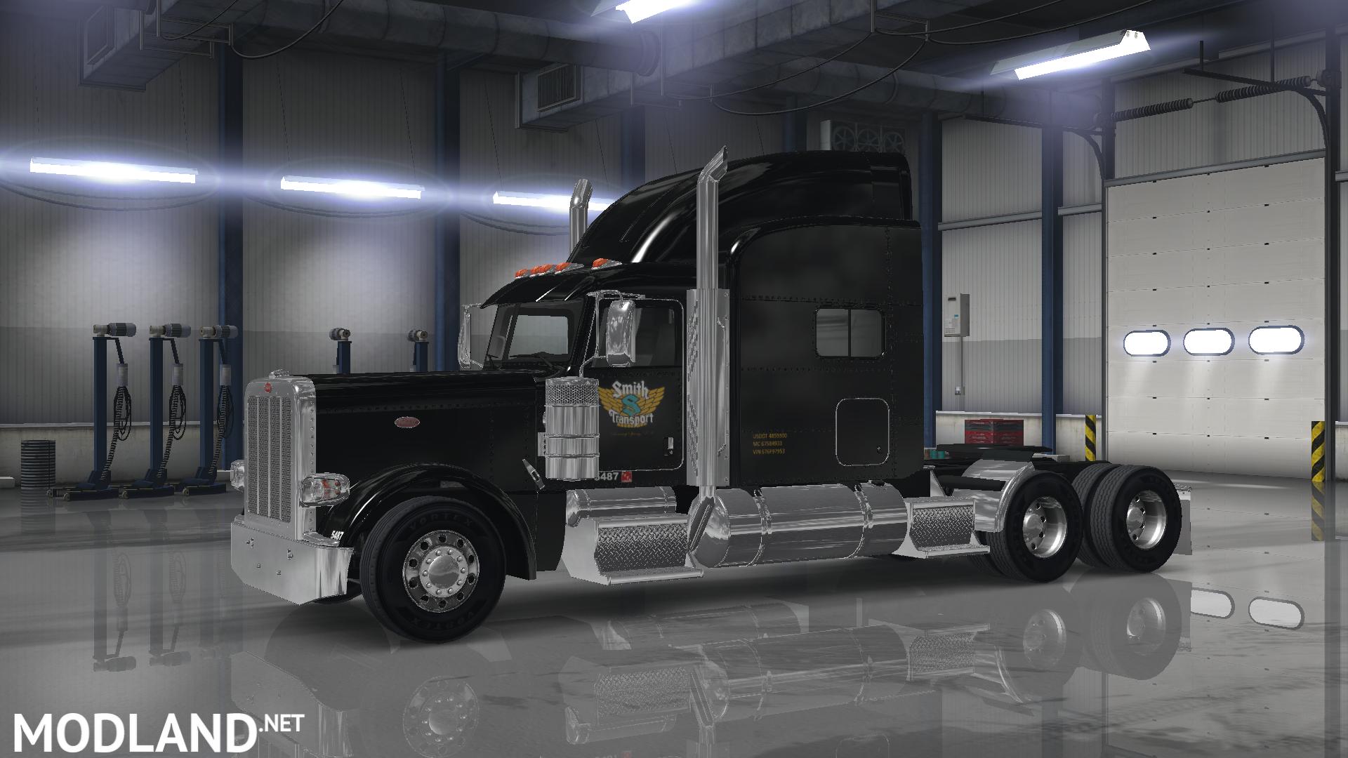 Net Direct Trucks >> Peterbilt 389(SCS) smith transport skin mod for American ...