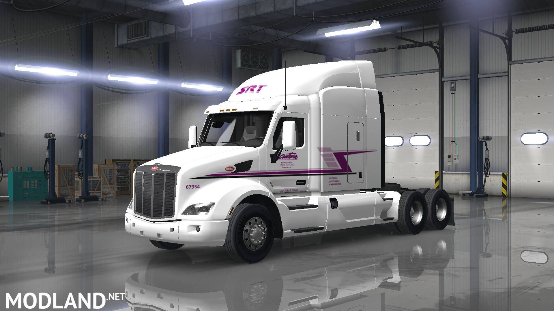 2017 Peterbilt 579 >> Southern Refrigerated Transport Skin Pack mod for American Truck Simulator, ATS