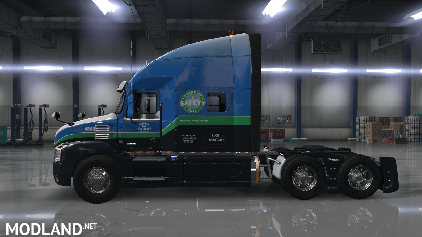 USA TRUCK Inc  skin for Mack Anthem mod for American Truck