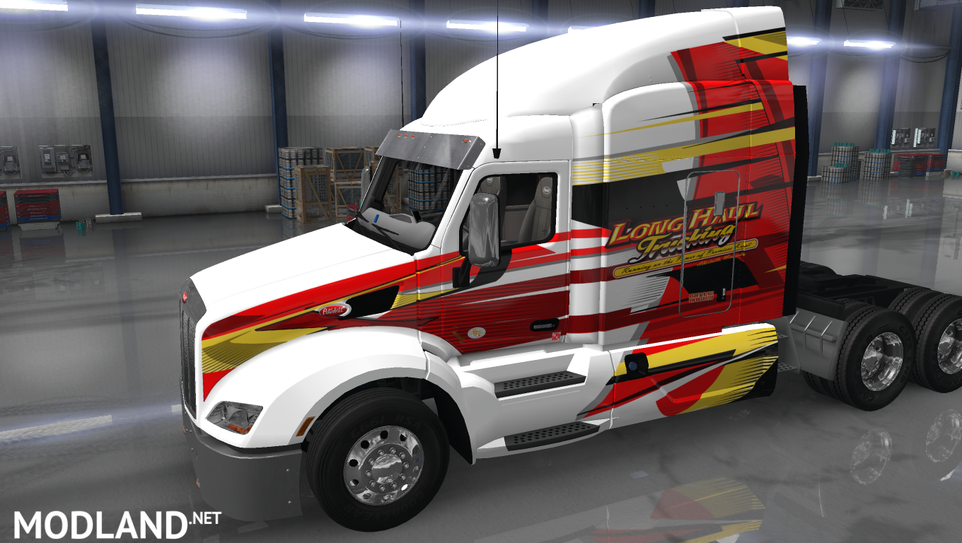 Long Haul Trucking >> Long Haul Trucking Skin For Scs 579 Mod For American Truck