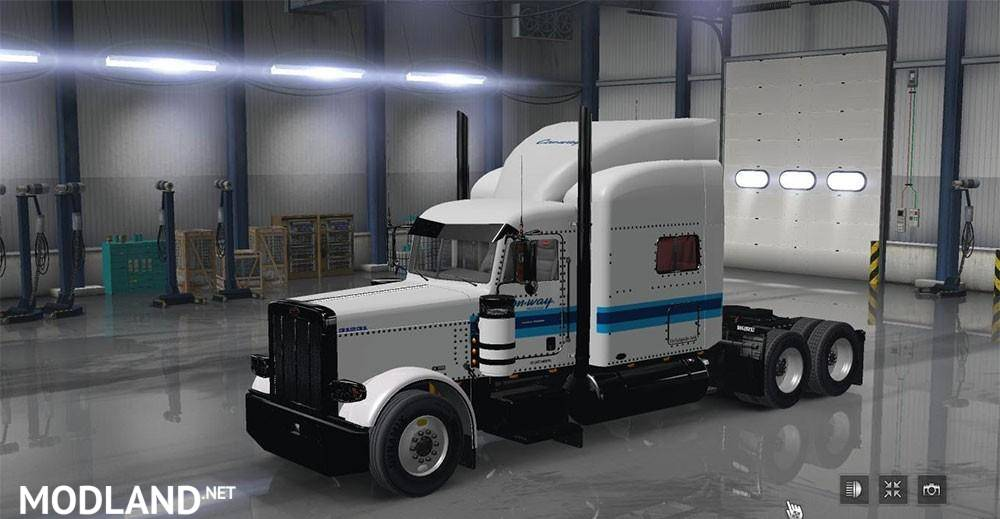 Conway freight 389 mod for american truck simulator ats for Howell s motor freight