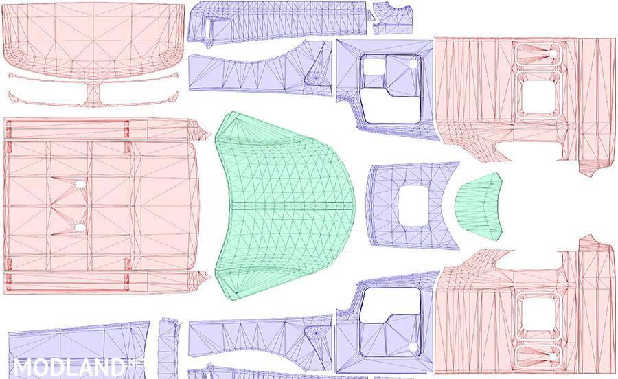 2017 Peterbilt 579 >> Kenworth w900 Template mod for American Truck Simulator, ATS