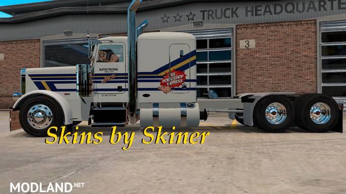 Peterbilt 389 Burton Trucking skin