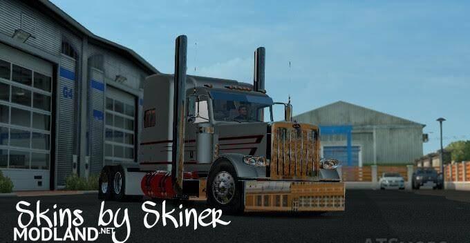 Peterbilt 389 MBH Trucking LLC Metallic Skin