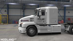 ATS 1.37 - Skin Polar Industries for SCS Mack Anthem (Ice Road Truckers Serie) Metalic Paintable, 2 photo