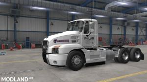 ATS 1.37 - Skin Polar Industries for SCS Mack Anthem (Ice Road Truckers Serie) Metalic Paintable, 3 photo
