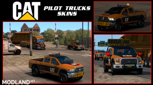 Caterpillar Escort/Pilot Vehicle Skin
