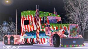 Christmas Truck Skin for Vipers 389