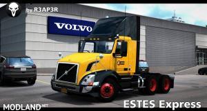 Estes Express Skin for SCS Volvo VNL 300