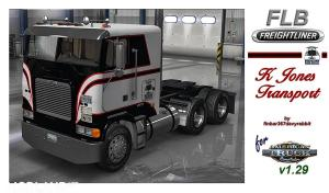 FLB Freightliner – K Jones Texture (HARVEN)
