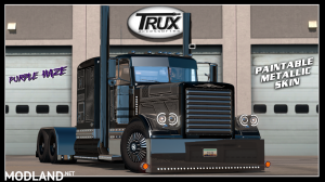 Trux Paintable Metallic Purple Haze skin(viper2+outlaws Pete)