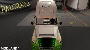 Freightliner Inspiration Skin with matching OWNED Trailer, 4 photo