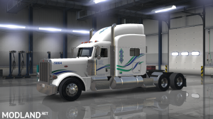 peterbilt 389 (SCS) john christner trucking skin, 1 photo