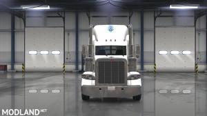 peterbilt 389 (SCS) john christner trucking skin, 2 photo