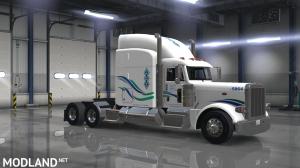 peterbilt 389 (SCS) john christner trucking skin, 3 photo