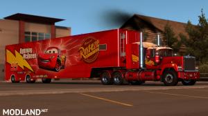 Pixar's Mack truck and Trailer Skin