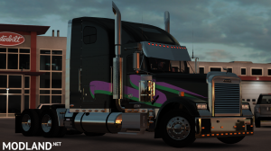 Miami Nights Freightliner Classic XL Skin, 3 photo