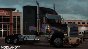 Miami Nights Freightliner Classic XL Skin, 3 photo
