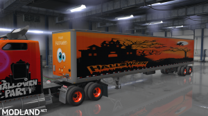 W900 Halloween Skin + 7 Trailer Skins, 2 photo