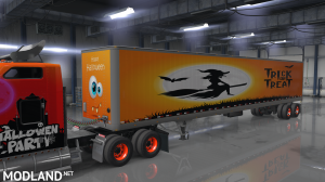 W900 Halloween Skin + 7 Trailer Skins, 6 photo