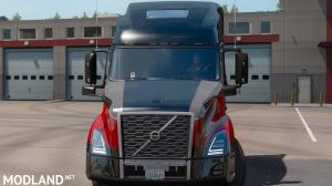 Red Tech Volvo VNL Skin (Edit Pack), 2 photo