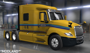 PENSKE skin for International LT2019 truck, 2 photo