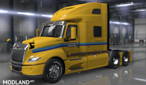 PENSKE skin for International LT2019 truck, 1 photo