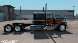 "SKIN ""CATMANDO"" FOR PETERBILT 389 1.31.X-1.35.X, 3 photo"