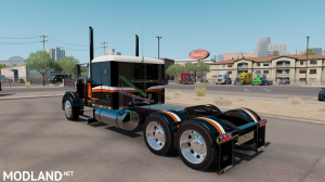 "SKIN ""CATMANDO"" FOR PETERBILT 389 1.31.X-1.35.X, 4 photo"