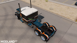 "SKIN ""CATMANDO"" FOR PETERBILT 389 1.31.X-1.35.X, 5 photo"