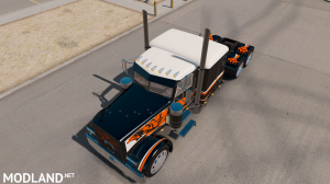 "SKIN ""CATMANDO"" FOR PETERBILT 389 1.31.X-1.35.X, 6 photo"