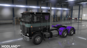 """""""Nemesis Prime"""" for Overfloater's Kenworth K100E by Araym, 4 photo"""
